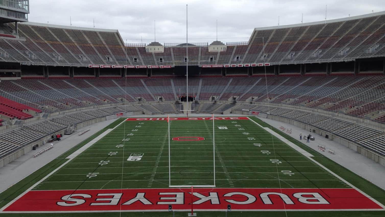 The Ohio State University Endzones
