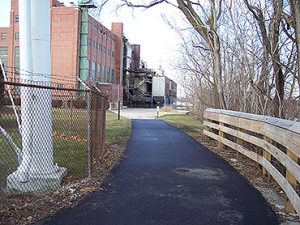Piqua Bike Path in Piqua, OH
