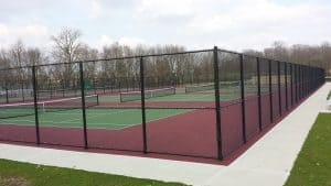 Milton Union Schools Tennis Courts